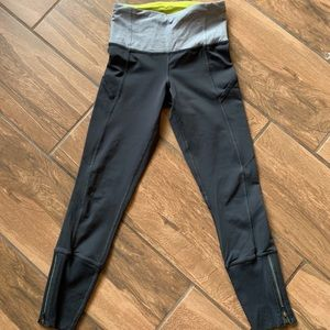 Lululemon crop grey pants